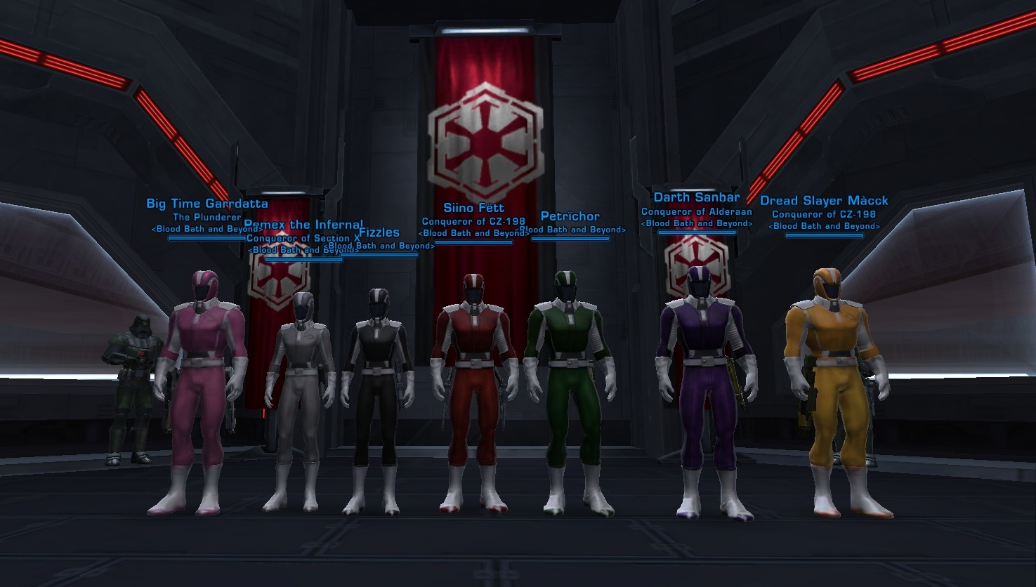 Power Rangers SWTOR Edition