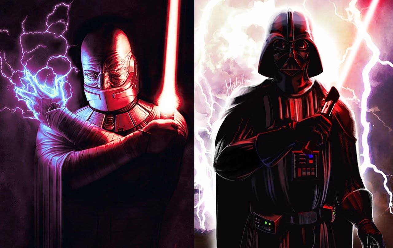 Versus Series Darth Malak VS Darth Vader