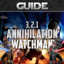 SWTOR GUIDE – Marauder Annihilation and Sentinel Watchman (Patch 3.2.1)