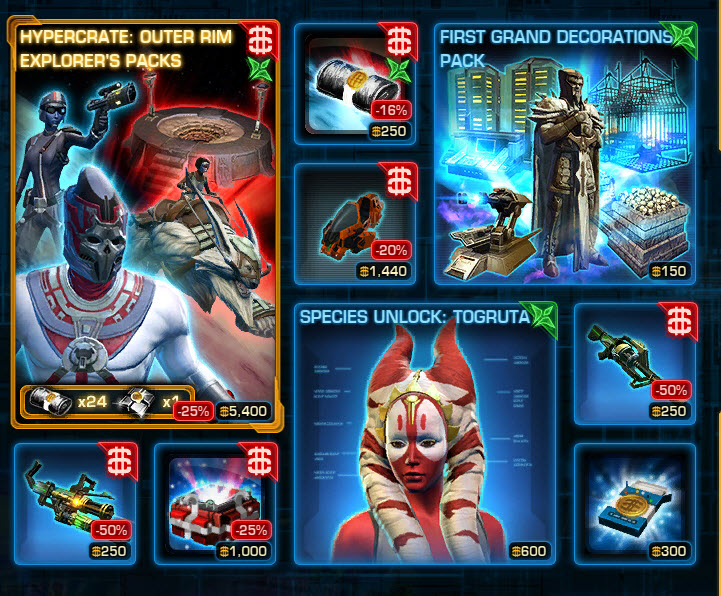 Changes to the Cartel Market — Tuesday July 28 – August 4 2015