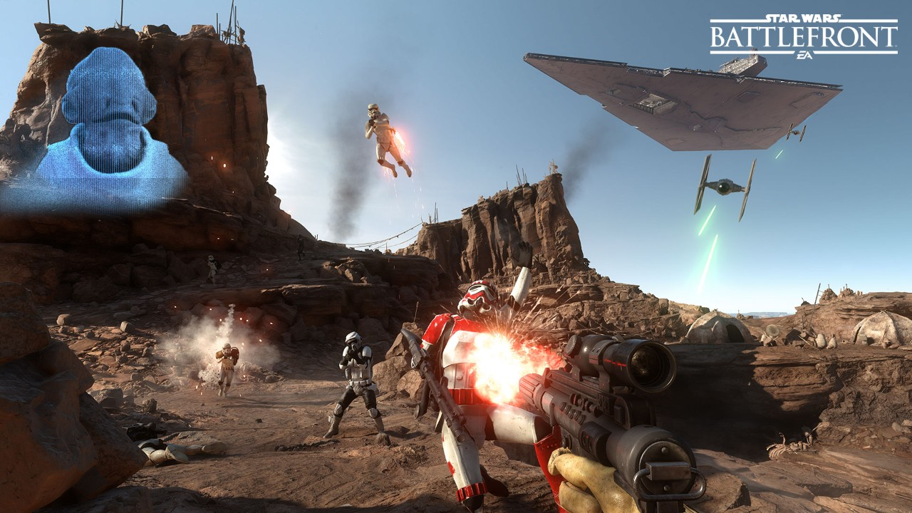 Creating the Sounds of Star Wars Battlefront