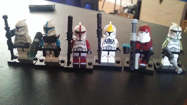 Star Wars Battlefront Classes in LEGO Form
