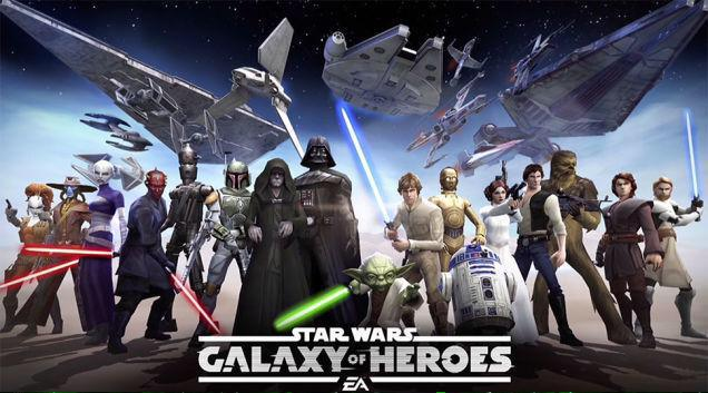 Star Wars Galaxy Of Heroes Official Announce Trailer