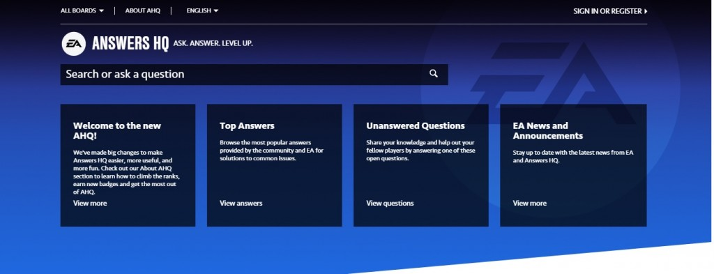 Introducing the SWTOR Answers HQ Page
