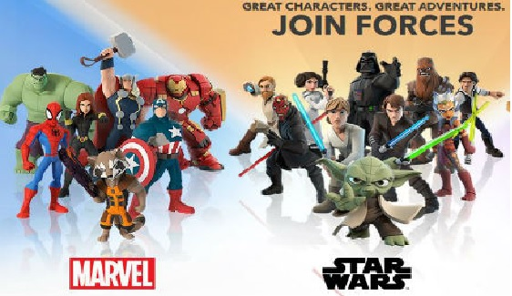 Marvel vs starwars