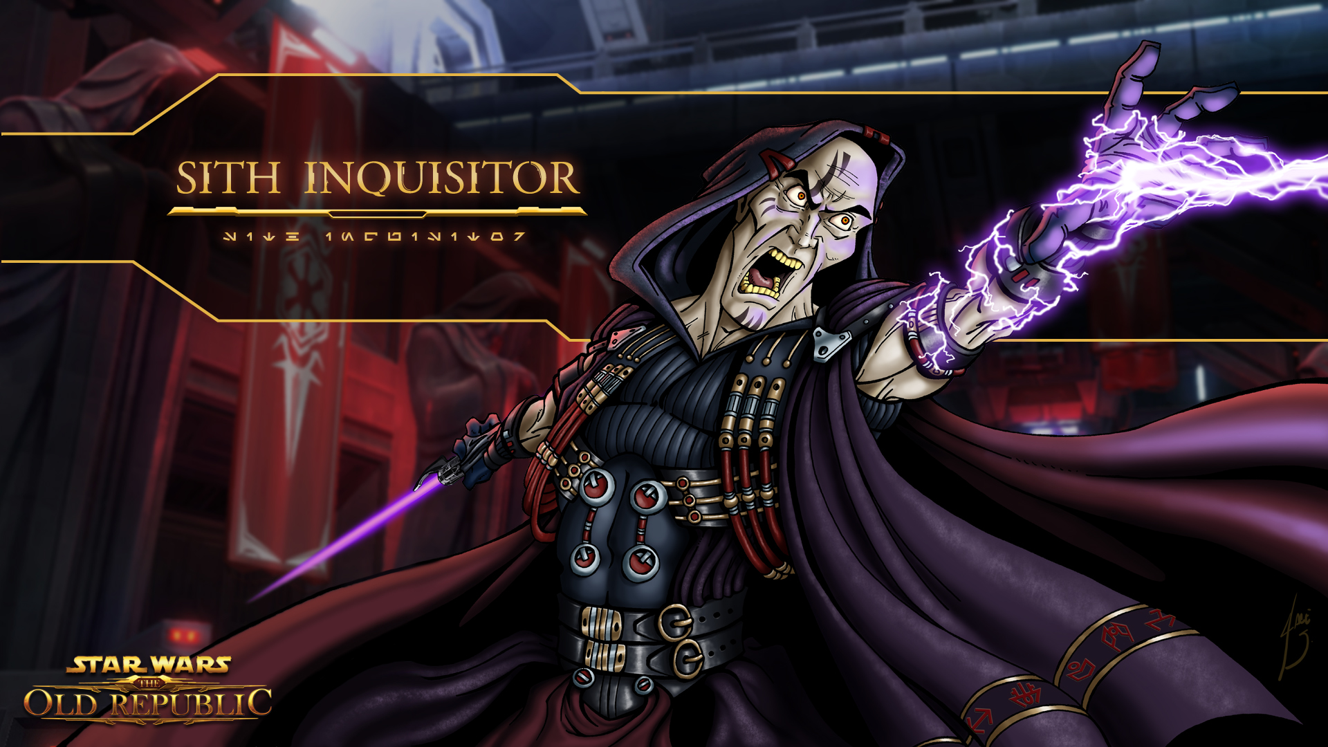 swtor sith inquisitor class story summary � star wars