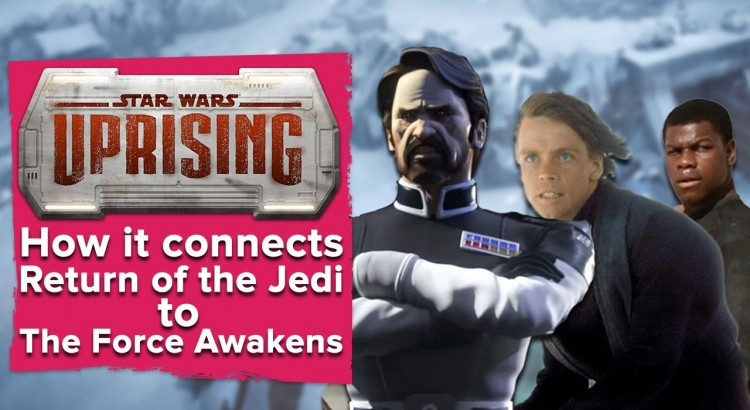 How Star Wars Uprising connects Return of Jedi to Force Awakens