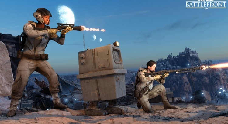 Star Wars Battlefront has no in-game voice chat