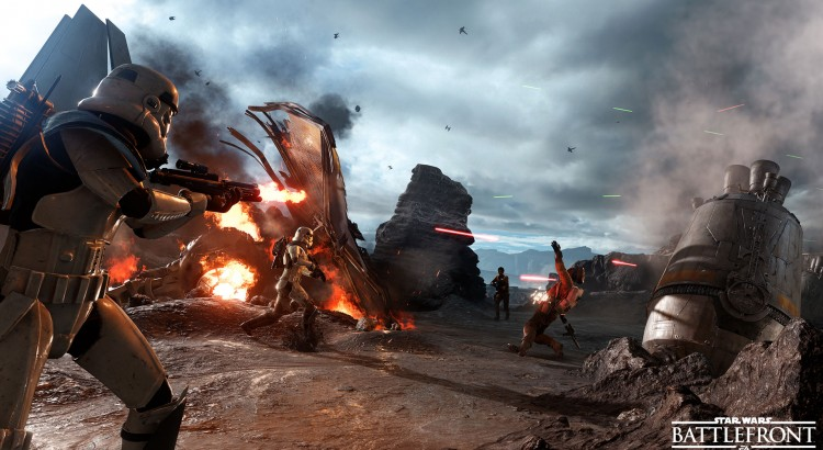 star wars battlefront render