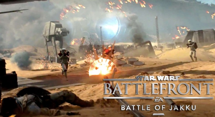 Star Wars Battlefront Battle of Jakku Gameplay Trailer