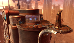 CORUSCANT AND DROMUND KAAS STRONGHOLDS