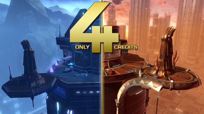 Fourth Anniversary Rewards for SWTOR
