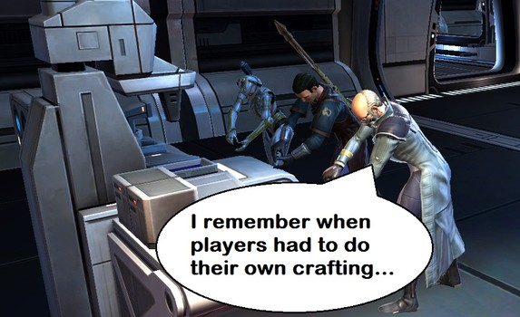 Crafting Changes in SWTOR