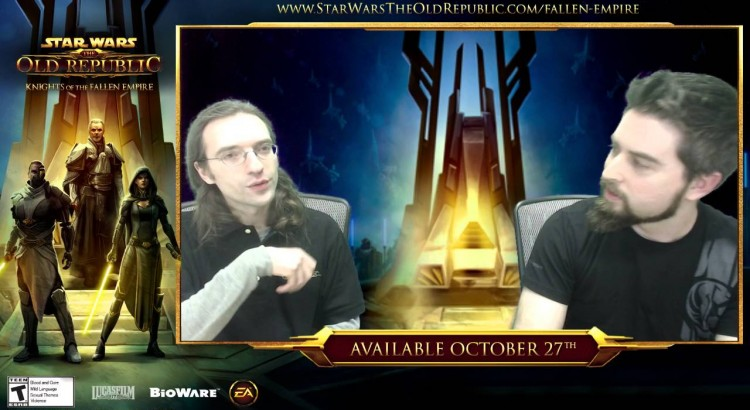 January BioWare Star Wars Story Livestream