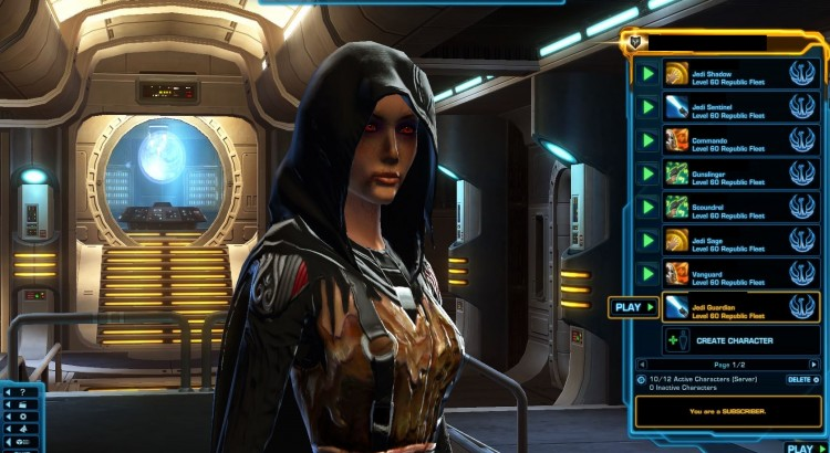 Changes To Start At Level 60 Armor In Swtor