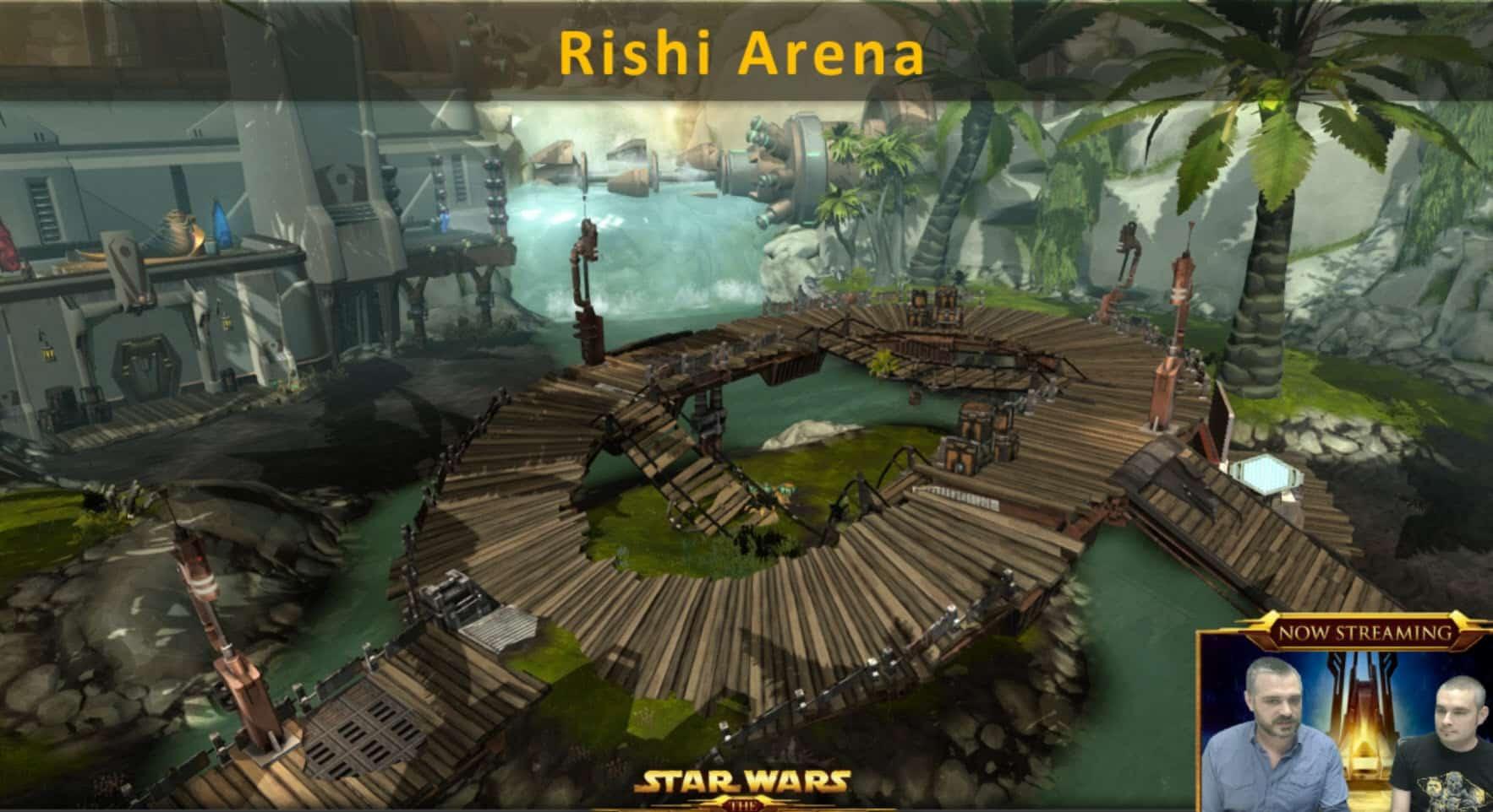 New SWTOR Rishi Arena