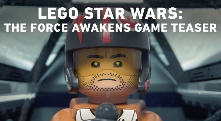 The Lego Star Wars The Force Awakens Trailer is Hilarious