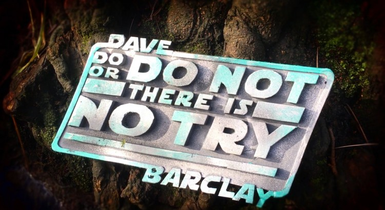 Dave Barclay – Do or Do Not. There Is No Try. Yoda documentary by @jamieswb from