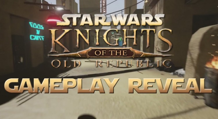 Gameplay Footage of Star Wars Knights of The Old Republic Unreal Engine 4 Mod