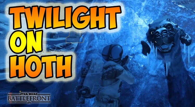 New map Twilight on Hoth, Easter Egg (Frozen taun taun )
