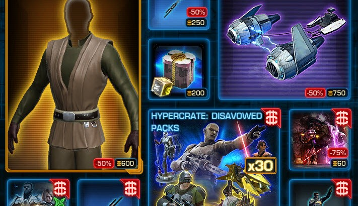 SWTOR CM Weekly Sales March 22 – 29