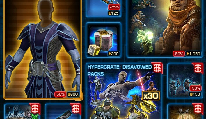SWTOR CM Weekly Sales March 29 – April 5