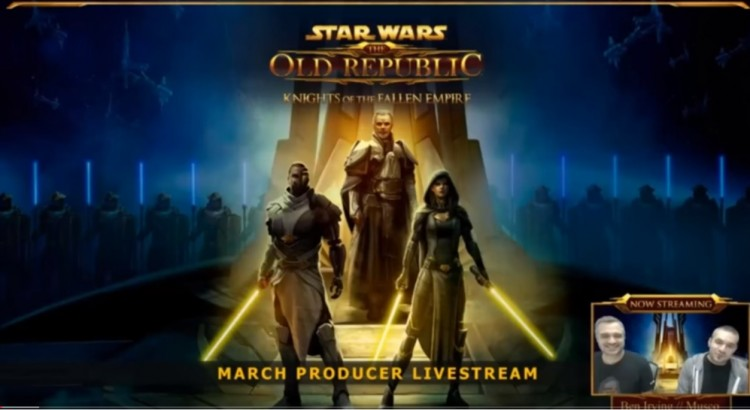 SWTOR March Producer's Livestream