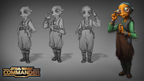Star Wars Commander Adds Maz Kanata From The Force Awakens For A Limited Time