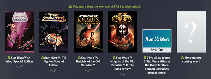 Star Wars Humble Bundle II