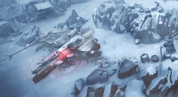 Star Wars Uprising  - Sector Battle  Hoth