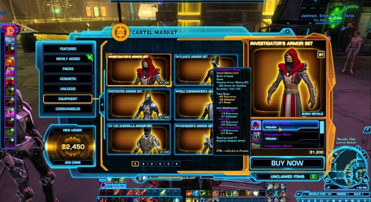 swtor cartel market rant