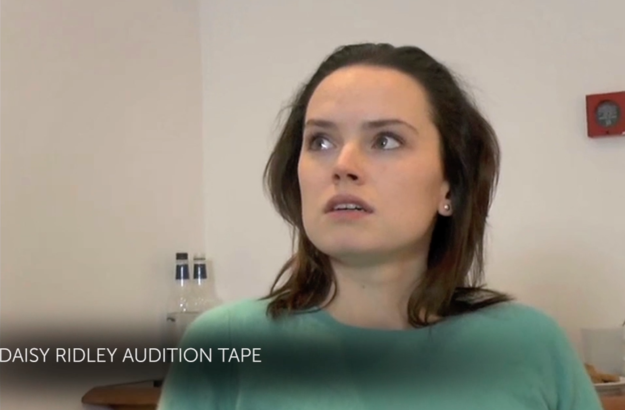 "Daisy Ridley's ""Star Wars"" Audition Was So Powerful"