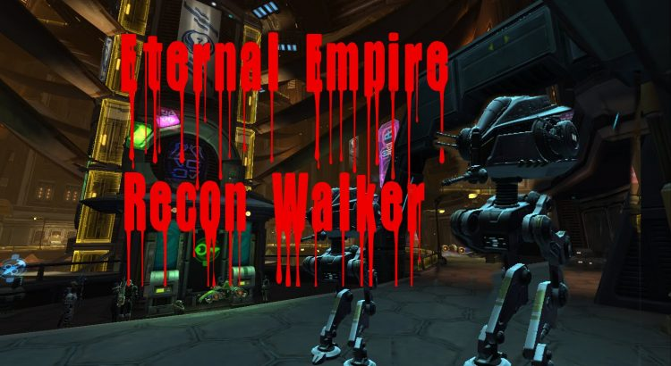 Eternal Empire Recon Walker