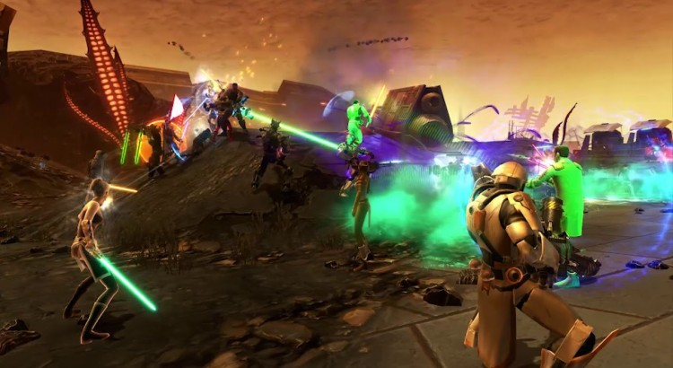 SWTOR World PVP: The Battle of Oricon II