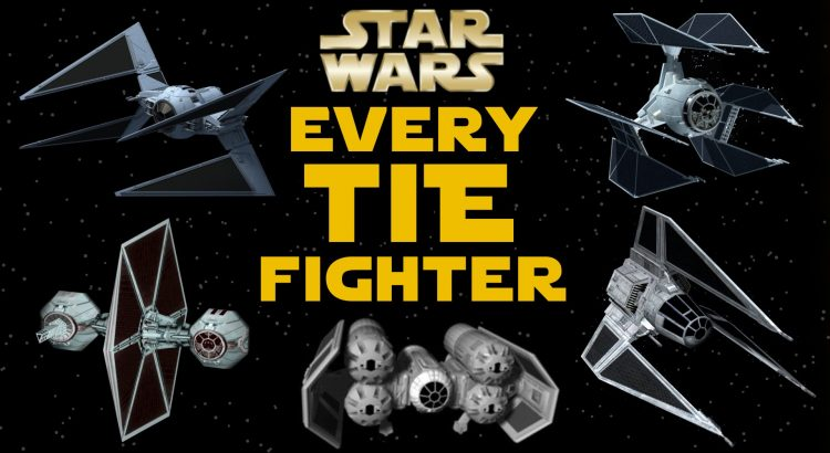All TIE Fighter Types