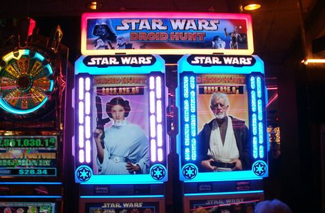 Star wars droid hunt slot machine for sale roulette strategies red black