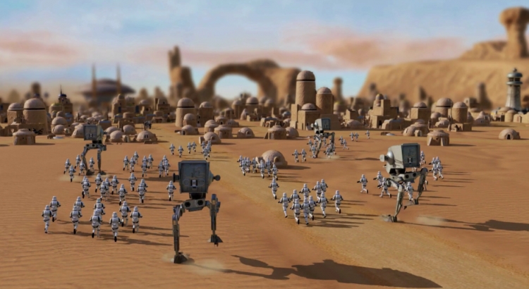 unannounced Star Wars RTS footage