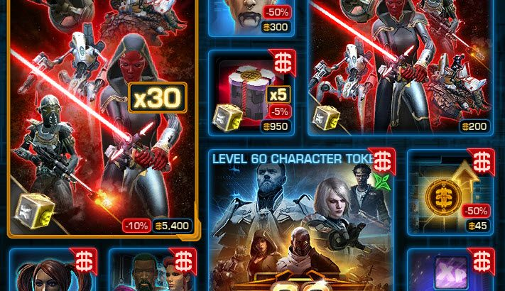 SWTOR CM Weekly Sales June 1 – 7
