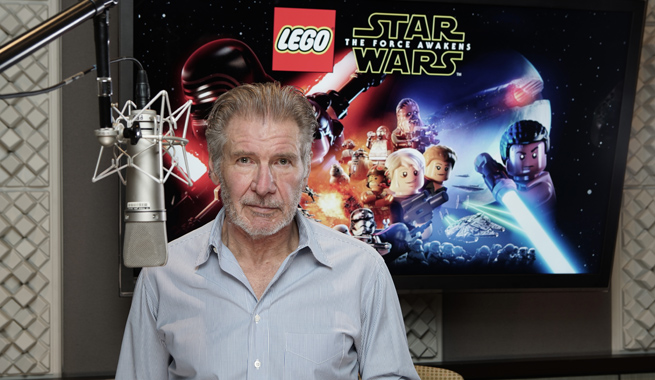 Harrison Ford Makes His Video Game Debut