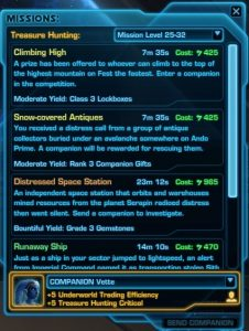 SWTOR: The Treasure Hunting Mission Imbalance
