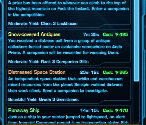SWTOR_Treasure_Hunting_missions