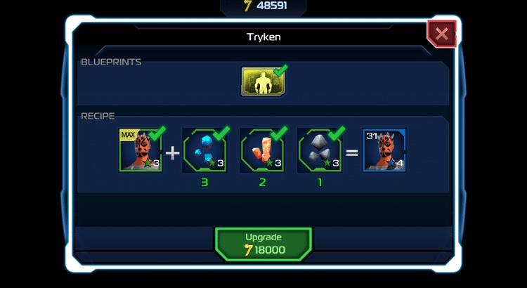 Star Wars Uprising - Sector Battle Imminent Burnin Konn