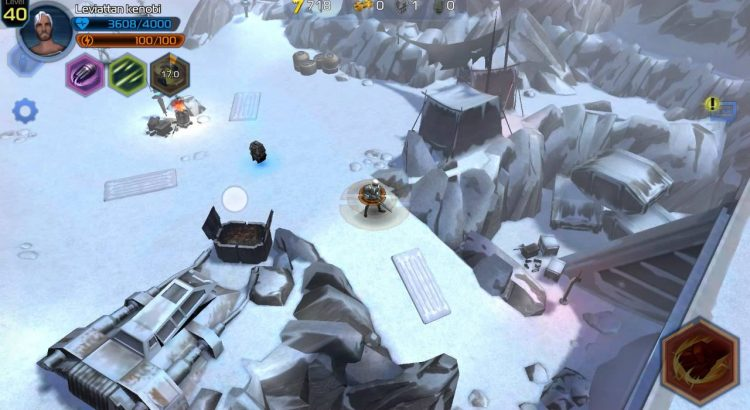 Star Wars Uprising - Sector Battle Imminent Hoth