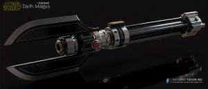 Darth Malgus Lightsaber (Ultrasabers Malice)