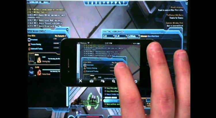 swtor apps