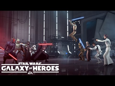 Star Wars Galaxy Of Heroes Full Ships And Crew List Star Wars