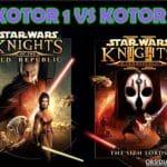 KOTOR 1 vs KOTOR 2