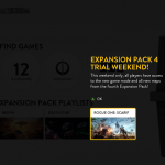 Star Wars: Battelfront  Rogue One DLC is free for everyone this weekend.