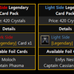 Star Wars: Force Arena Legendary Card Packs with Foil Cards!