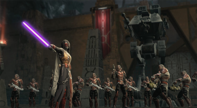 SWTOR Shadow of Revan and Rise of Hutt is now free to play